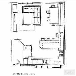 best 25 small living dining ideas on pinterest living With kitchen dining room design layout