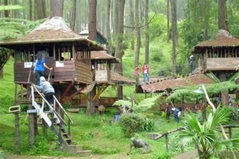 wisata rumah pohon  ternyata   bekasi palapa news