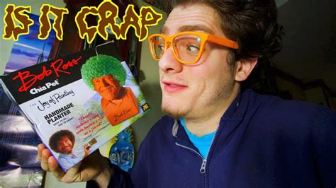 Is It Crap -- Bob Ross Chia Pet