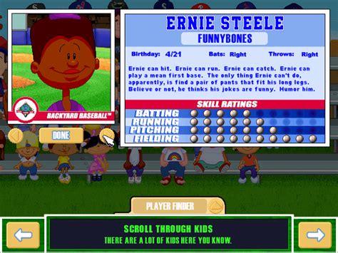 Play Backyard Baseball 2001 Online. Backyard Baseball 2001