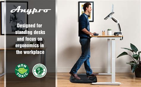 Amazon.com: Standing Desk Mat Anti Fatigue - Anypro