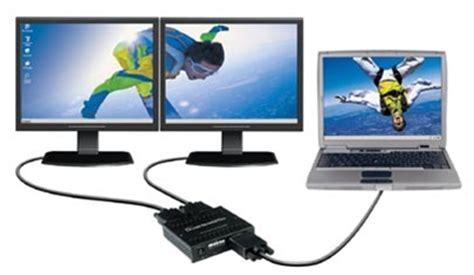 matrox dualheadgo dual monitor adapter vga analog
