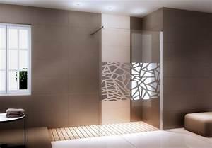 Paroi De Douche Miroir : parois de douche en niche bernstein la boutique salle de ~ Dailycaller-alerts.com Idées de Décoration