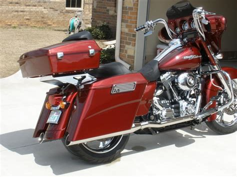 detachable chopped  pack installed harley