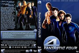 Fantastic Four DVD Cover by Adam0000 on DeviantArt