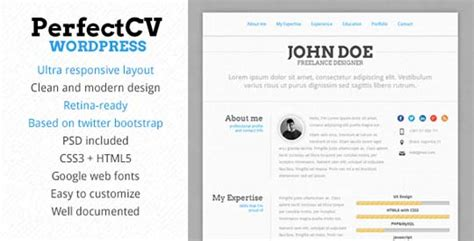 30 modern cv resume themes designbeep