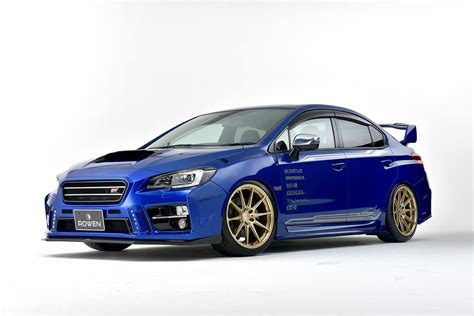 subaru wrx rowen turns subaru wrx sti into a road going rally car