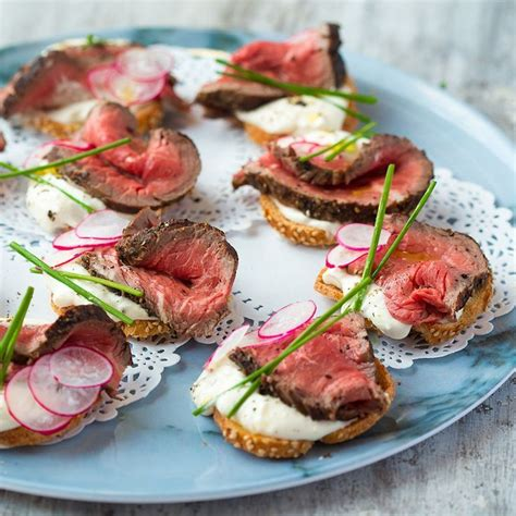 beef canapes recipes best 25 beef appetizers ideas on