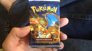 1st edition original Pokemon booster pack - YouTube