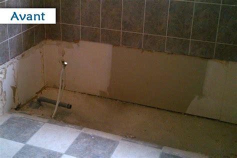 remplacer un baignoire par une as plomberie transformer sa baignoire en une