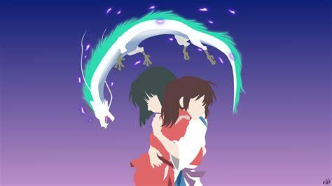anime film chihiro spirited away minimalist full hd fond d 233 cran and arri 232 re