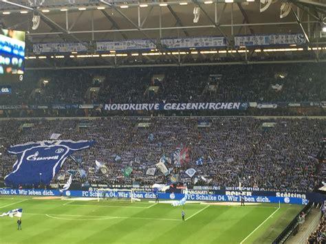 Gelsenkirchen police said fans had already started lighting fireworks and flares near the. Veltins-Arena - FC Schalke 04 | Stadium Journey