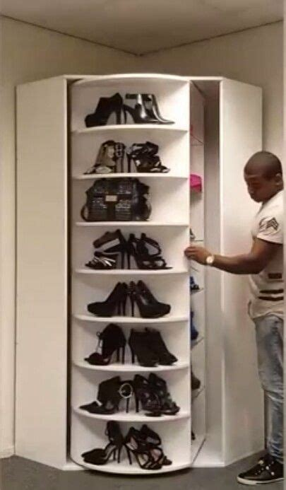 revolving shoe rack 25 best ideas about rotating shoe rack on