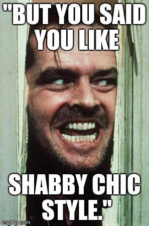 not shabby meme jack nicholson imgflip