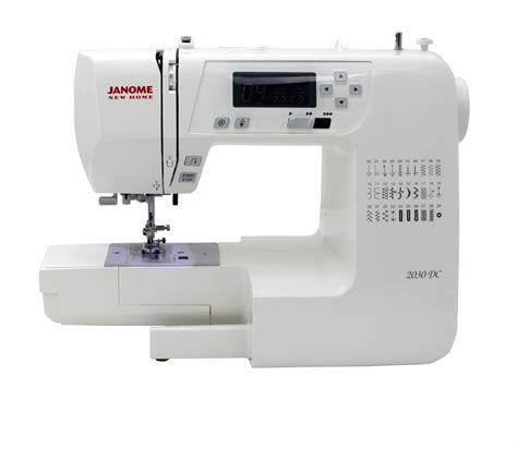 machines for home janome new home dc2030 sewing machine refurbished