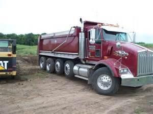 Kenworth Quad Axle Dump Truck for Sale