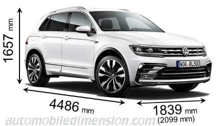 dimensions  volkswagen cars showing length width  height
