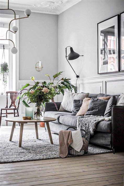An ivory carpet and couch, taupe tables and walls, and purple accessories. Fabulous Grey Living Room Designs ideas and Accent Colors - Page 20 of 44 - Womensays.com Women Blog