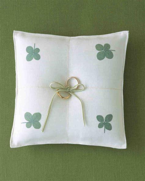 ring bearer pillow ideas you can make your own martha stewart weddings