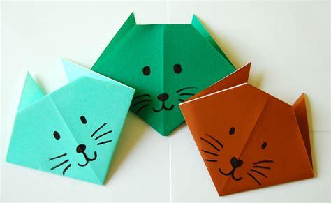 origami cat bookworm bear