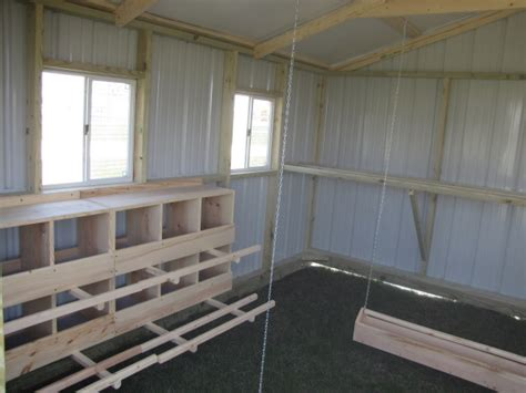 gable style chicken house