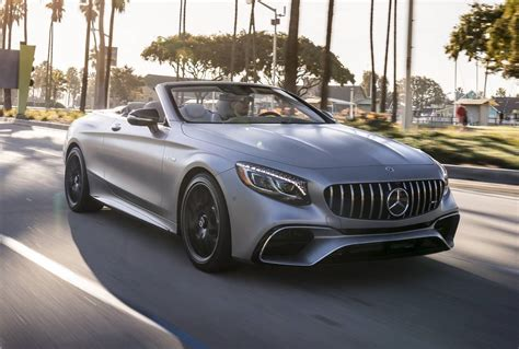 convertible mercedes 2018 mercedes amg s63 coupe s63 convertible review