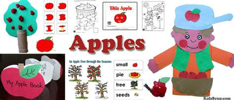 apple cycle sequencing kidssoup 494 | Apples preschool activities 0