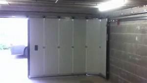 Porte De Garage Tubauto : porte deplacement laterale par sarl ades youtube ~ Melissatoandfro.com Idées de Décoration