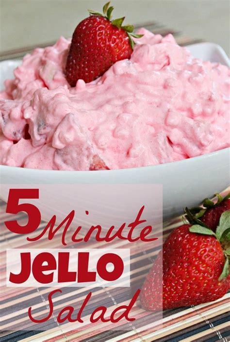 fat  cool whip sugar  strawberry jello