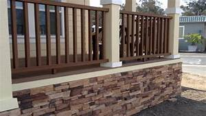 Front deck designs, mobile home skirting stone look diy
