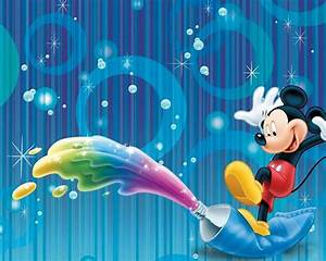 Colorful Mickey Mouse Hd Wallpaper : Wallpapers13 com