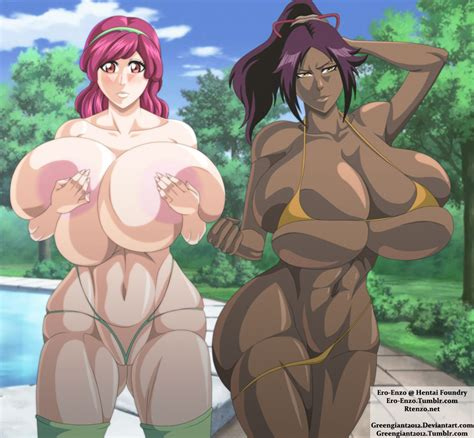 yoruichi and meninas by ero enzo hentai foundry