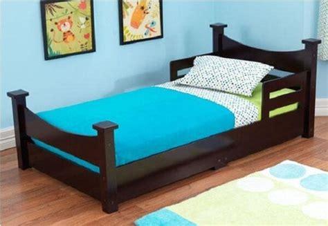 Childrens Bedroom Furniture Sale Ebay by Toddler Bed W Side Rails Children Wood Bedroom