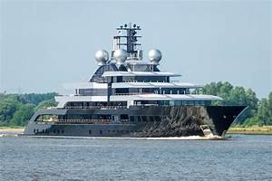 Exclusive 135m Lrssen Project Thunder Departs On Sea