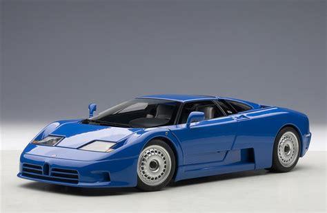 AUTOart: 1991 Bugatti EB110 GT - Blue (70976) in 1:18 ...