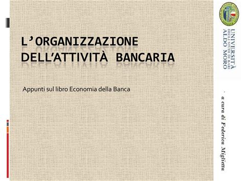 Economia Degli Intermediari Finanziari Dispense by Attivit 224 Bancaria Dispense