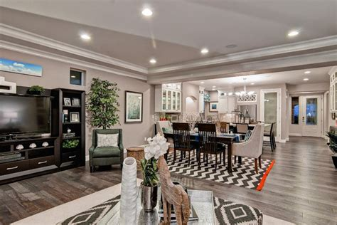 grey hardwood floors   combine gray color  modern interiors