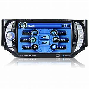 Car Stereo Multimedia Player System  1 Din  5 Inch