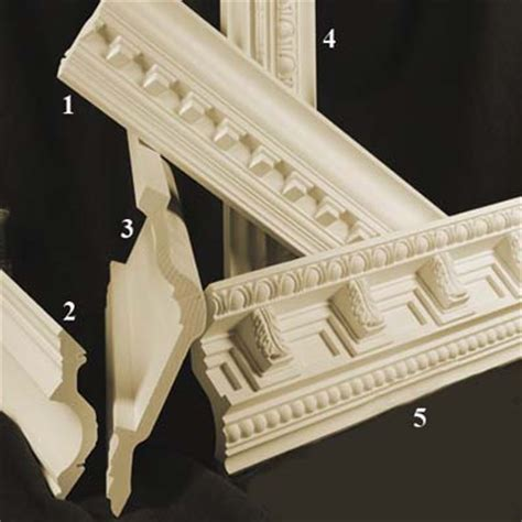 Polyurethane Crown Molding by Polyurethane Moldings And Interior Moldings Studio