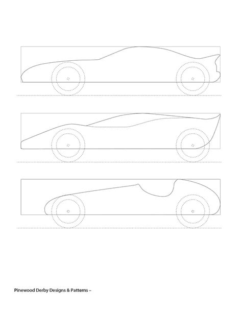 Pinewood Derby Template 39 Awesome Pinewood Derby Car Designs Templates