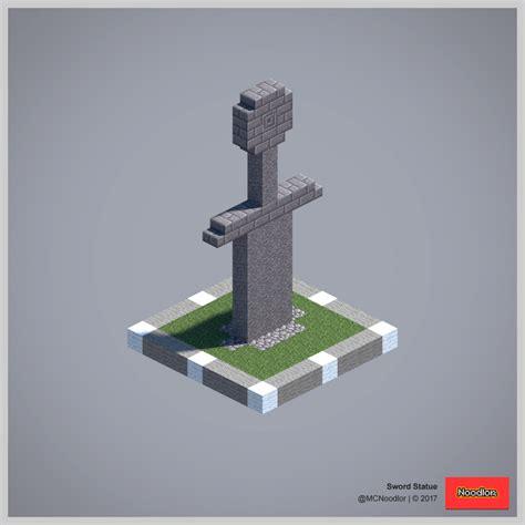 sword statue    pinterest minecraft