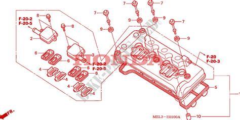 cylinder head cover for honda cbr 1000 rr fireblade repsol 2005 honda motorcycles atvs