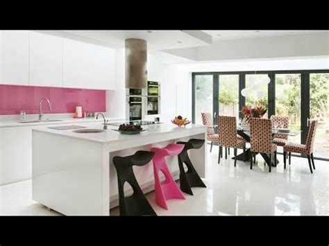 kitchen  living room combination modern style