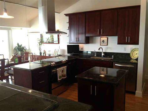 espresso cabinets create stunning kitchen or bathroom
