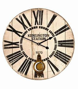 Grande Horloge Murale Originale : horloge murale pendule murale horloge design horloge ancienne ~ Teatrodelosmanantiales.com Idées de Décoration