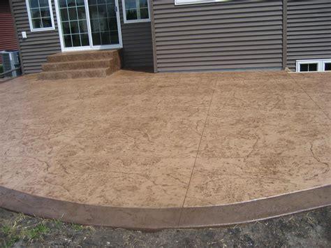stamped concrete  finish concrete