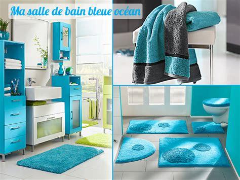 d 233 coration salle de bain bleu