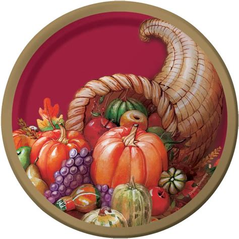 Plentiful Harvest Gifts 7-inch Plates: Party at Lewis ...