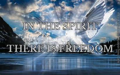 Spirit Christian Backgrounds Freedom Religious Holy Bible