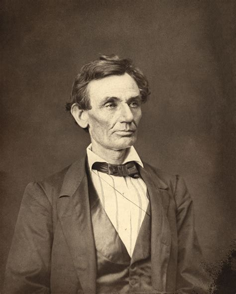 Fileabraham Lincoln O27 By Hesler, 1860cropjpg  Wikimedia Commons